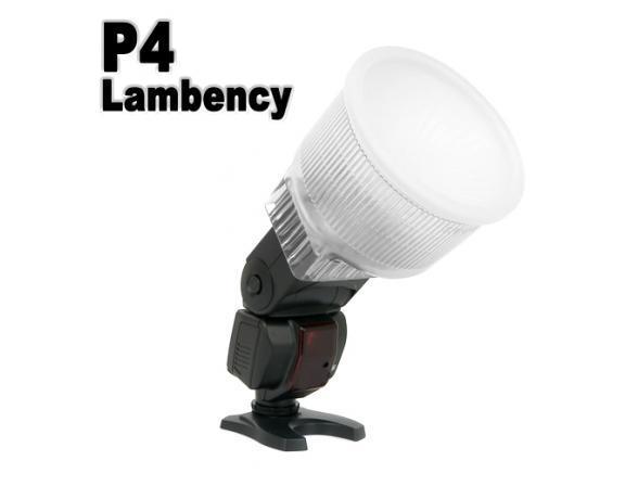 Прозрачный диффузор Lambency P4 для вспышек Canon 580EX/580EX II