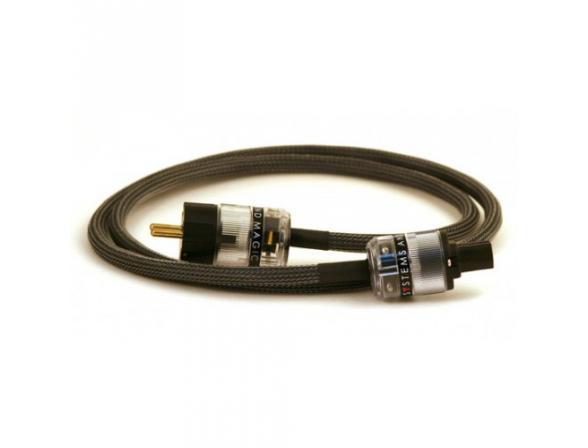 Сетевой кабель Systems and Magic 1,5 метра Black Wire