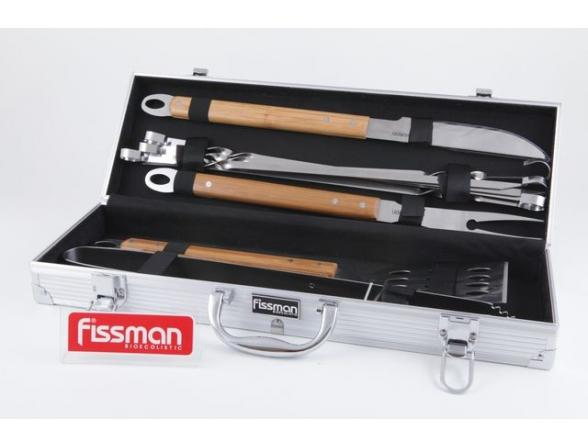 Набор для барбекю в чемодане Fissman 1017