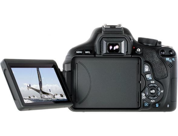 Зеркальный фотоаппарат Canon EOS 600D Kit 18-55 IS II