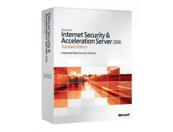 Microsoft ПО ISA Server Ent 2006 English Disk Kit