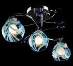 Люстра Eurosvet 9440/3 хром/синий