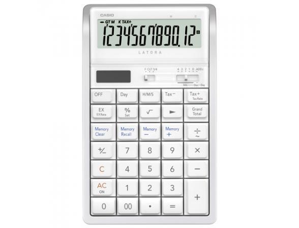 Калькулятор настольный Casio casRT-7000-WE