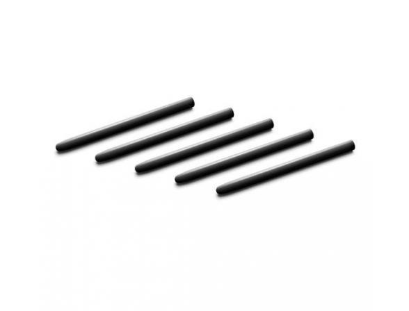 Комплект наконечников Wacom для Bamboo/Bamboo Pen/Intuos3, 5шт, черные