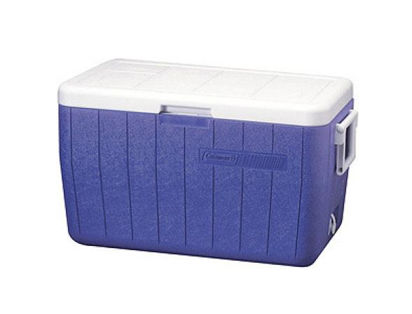 Изотермический контейнер Coleman 48QT POLY-LITE COOLER BLUE,45 л