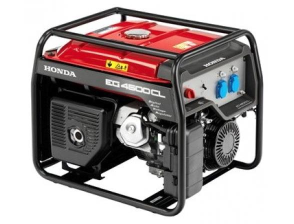 Бензогенератор HONDA EG 4500 CX