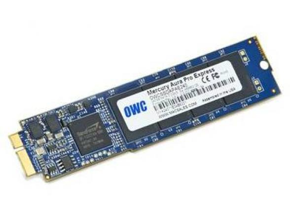 SSD жесткий диск OWC 480GB Aura Pro Express 6Gb/s for MacBook Air 2011