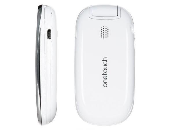 Телефон Alcatel OT665 Chrome
