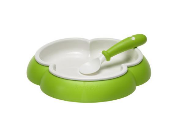 Набор посуды BabyBjorn Plate and Spoon (тарелка + 2 ложки)