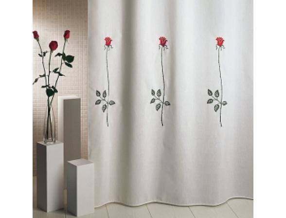 Шторка для ванной ARTI-DECO ROSAS C. RED