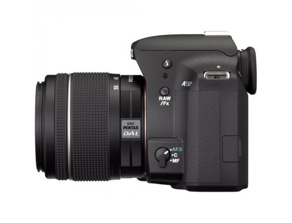 Зеркальный фотоаппарат Pentax K-50 + DA L 18-55 WR