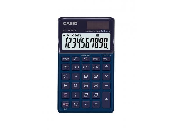 Калькулятор  карманный Casio casSL-1100TV-BU