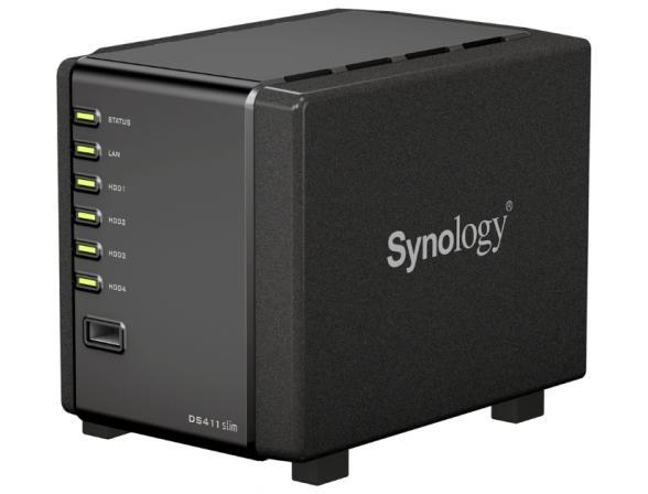 Сетевой накопитель Synology DS411 Slim