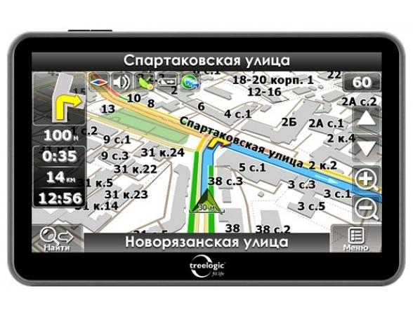 Навигатор Treelogic TL-5010BGF AV