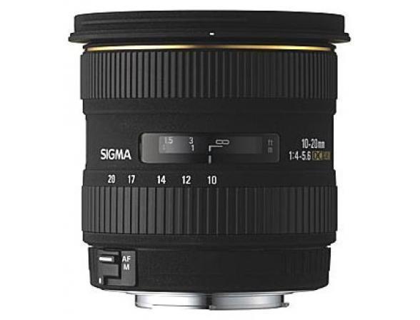 Объектив Sigma AF 10-20mm f/4-5.6 EX DC HSM CANON
