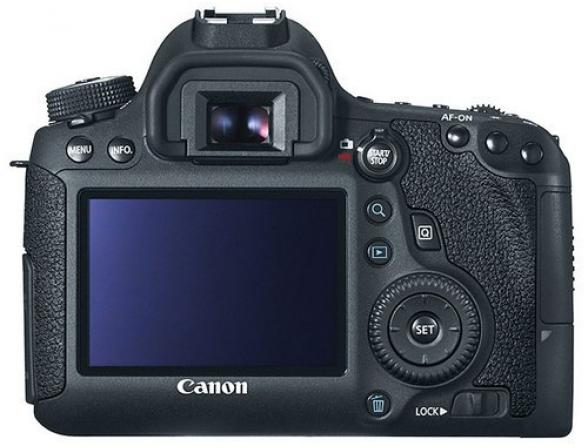 Зеркальный фотоаппарат Canon EOS 6D Body (WG) Wi-Fi, GPS