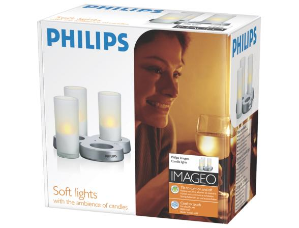 Декоративный светильник Philips 799005 IMAGEO LED Candle 3set EU (5/90) 3 свечи