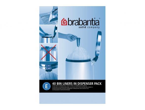 Пакет пластиковый Brabantia высокий 20л 40шт 375644