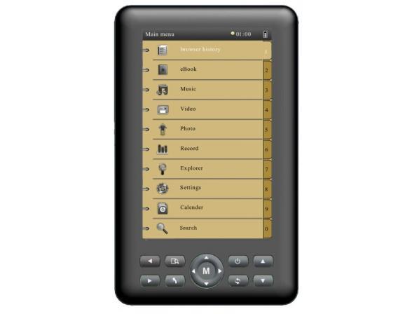 Электронная книга Diframe Df-MB501