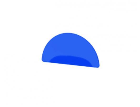 Декоративный элемент (синий) FBS LUXIA LUX 088