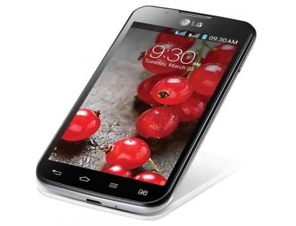 Смартфон LG Optimus L7 II Dual P715 Black