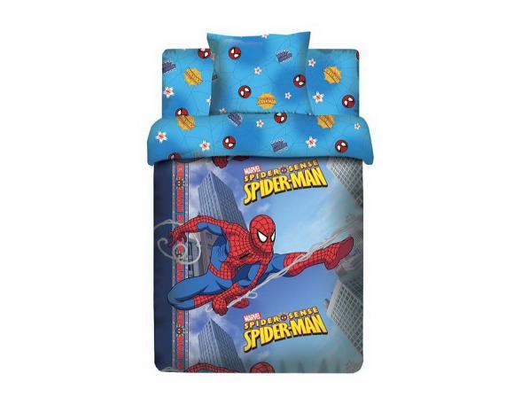 Комплект постельного белья Нордтекс Marvel Человек-Паук 1,5сп