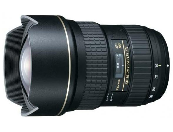 Объектив Tokina AT-X 16-28 F2.8 PRO FX Canon EF