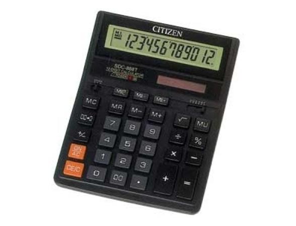 Калькулятор настольный CITIZEN citSDC-888T