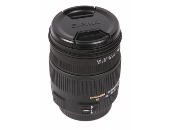 Объектив Sigma AF 18-50mm f/2.8-4.5 DC HSM Sony