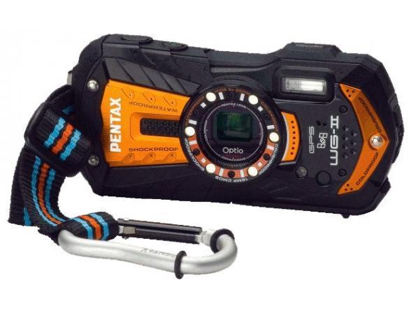 Цифровой фотоаппарат Pentax Optio WG-2 GPS