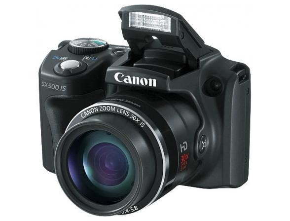 Цифровой фотоаппарат Canon PowerShot SX500 IS