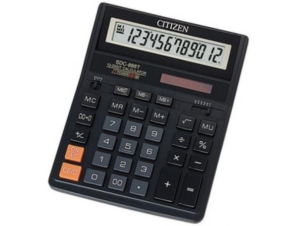 Калькулятор CITIZEN SDC-888TII настольный