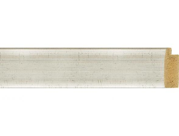 Зеркало в багетной раме EVOFORM травленое серебро (54х74 см) BY 0632