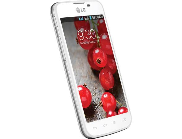 Смартфон LG Optimus L5 II Dual E455 White
