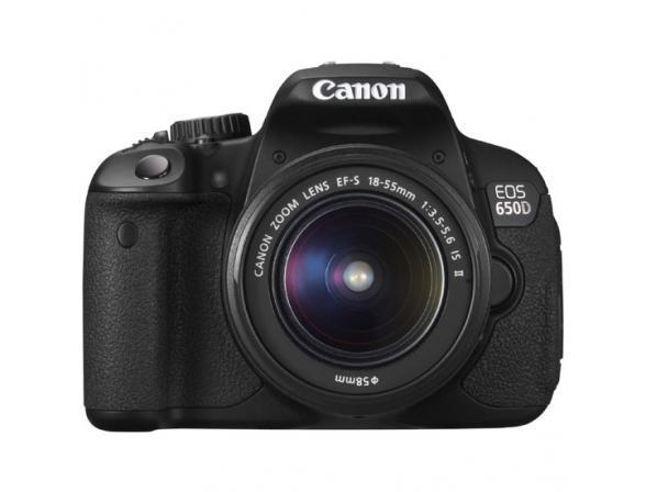 Зеркальный фотоаппарат Canon EOS 650D Kit 18-55 DC