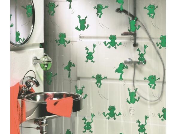 Шторка SEALSKIN Freddy 180х200, винил, зеленый (210171334)