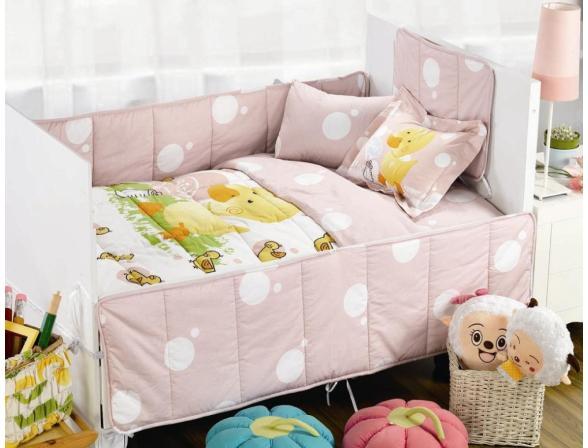 Комплект постельного белья с одеялом и юбкой ARYA DUCKY