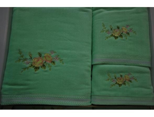Комплект полотенец ARYA FLORA
