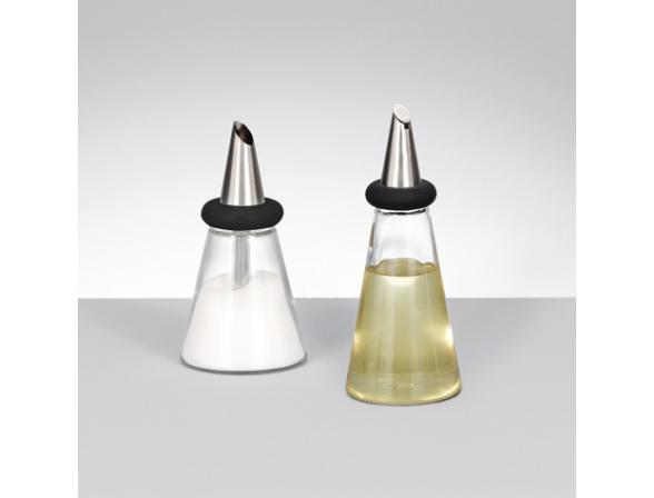 Емкость для специй Zeller 15см, стекло/ч.пластик  19867