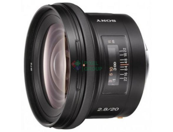 Объектив Sony 20mm f/2.8