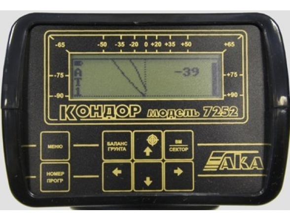 Металлоискатель AKA КОНДОР 7252