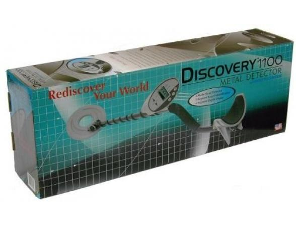 Металлоискатель Bounty Hunter Discovery 1100