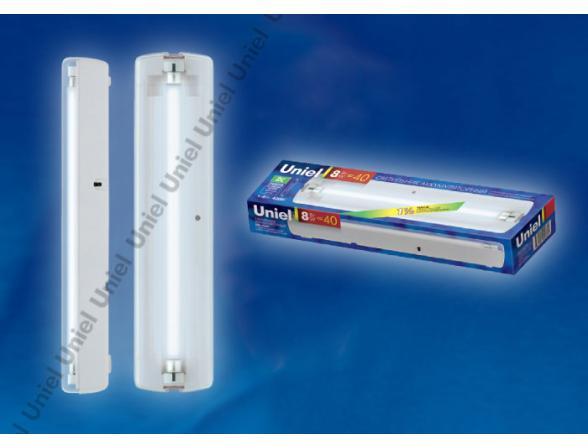 Светильник аккумуляторный Uniel URL-05-DC-T5-8W1-1,5HRS-WH