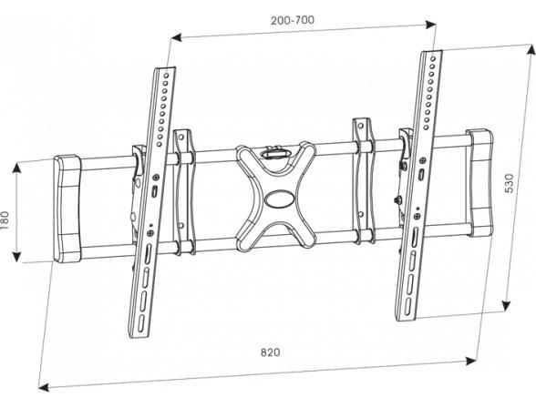 Кронштейн TUAREX OLIMP-8002