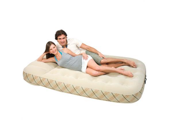 Кровать надувная со встроенным насосом Bestway Power-pro Air Mattress Queen 67393