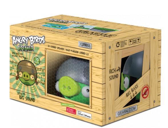 Минисистема Gear4 PROJECT Angry Birds Speaker Pig