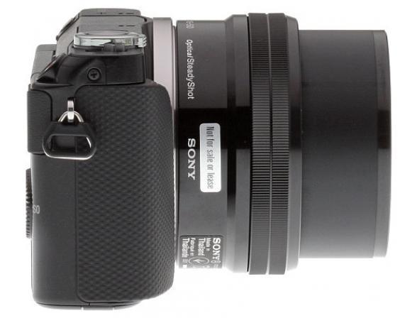 Цифровой фотоаппарат Sony Alpha NEX-3NL kit 16-50 black