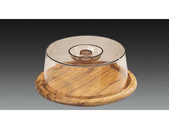 Колпак для хлеба/сыра Kesper круг. 23 см 5664-1