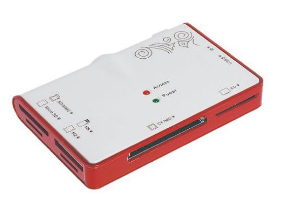 Концентратор USB 2.0 Konoos UK-12