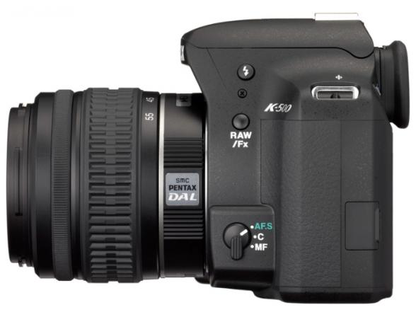 Зеркальный фотоаппарат Pentax K-500 Kit DA L 18-55